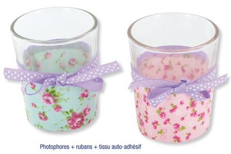 Photophores en verre - Lot de 4 - Supports en Verre – 10doigts.fr