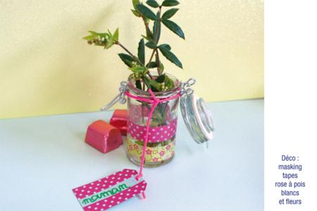 Pot à épices rond en verre - Lot de 4 - Supports pour mosaïques – 10doigts.fr