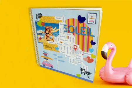 Grand album Kraft à spirales - 30 x 30 cm - Albums photos, carnets – 10doigts.fr