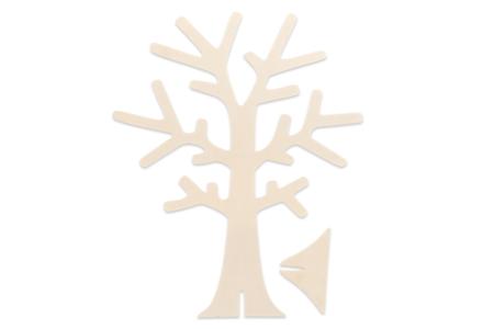 Arbre porte-bijoux en bois - 18 cm - Rangements – 10doigts.fr