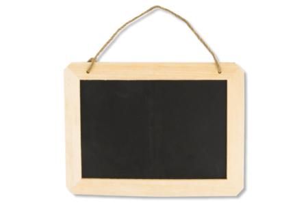 Ardoise d'écolier en bois - Craies, tableaux, ardoises – 10doigts.fr