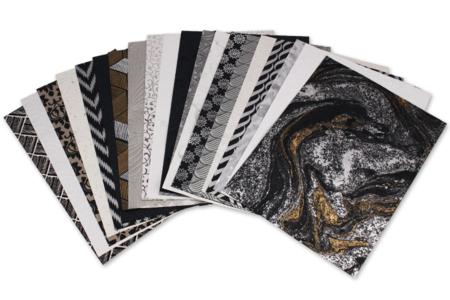Assortiment de papiers indiens - Delhi - Papier artisanal naturel – 10doigts.fr
