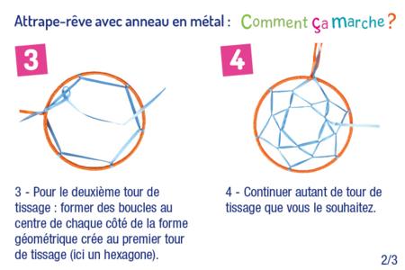 Attrape-rêves en métal - Attrape-rêves – 10doigts.fr