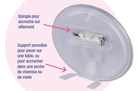 Badges ronds à personnaliser - Objets pratiques du quotidien – 10doigts.fr