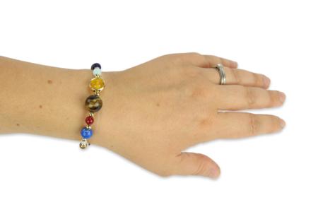 Kit bracelet Système solaire - Lithothérapie / Bracelets chakras – 10doigts.fr