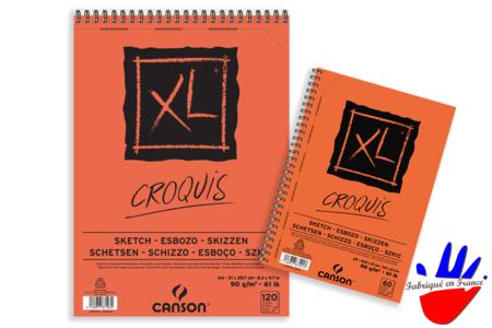 Bloc Papier Croquis et esquisse Canson XL - Nouveautés – 10doigts.fr
