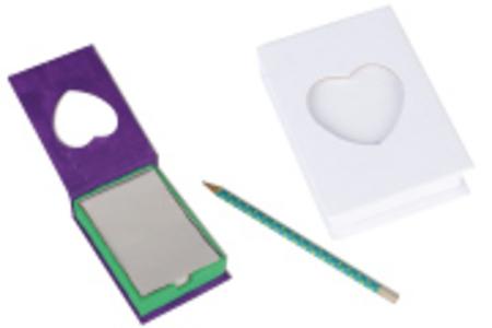 Boîte bloc-notes à décorer - Boîtes en carton – 10doigts.fr