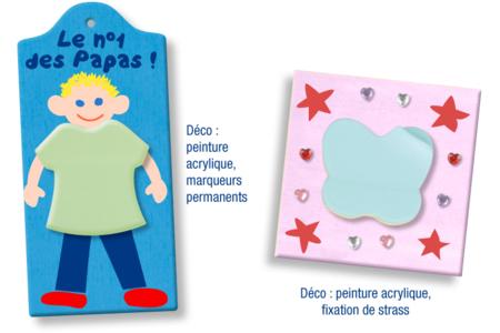 Blocs-notes repositionnables multicolores - Formes au choix - Blocs notes – 10doigts.fr