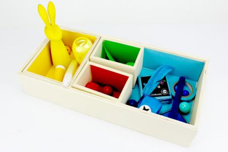 Boite en bois - 10 compartiments amovibles - Boîtes et coffrets – 10doigts.fr