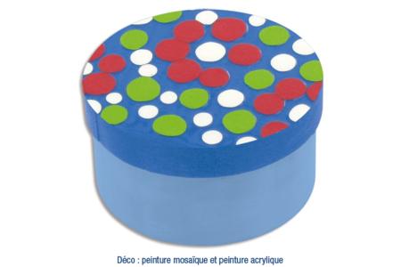 Boîte ronde en bois - Boîtes et coffrets – 10doigts.fr