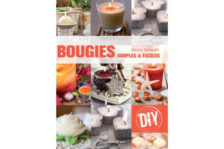 Livre : Bougies simples et faciles - Livres Modelages, Fimo... – 10doigts.fr