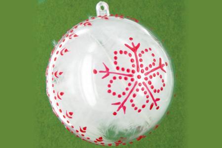 Boule de Noël - Noël – 10doigts.fr