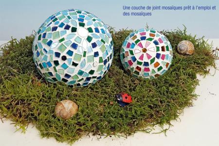 Boule polystyrène déco mosaïques - Déco de la maison – 10doigts.fr