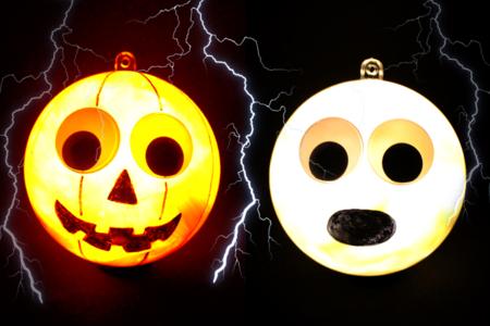 Boules lumineuses Halloween - Halloween – 10doigts.fr