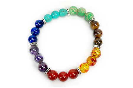 Perles Œil de Tigre - set de 48 - Perles Lithothérapie – 10doigts.fr
