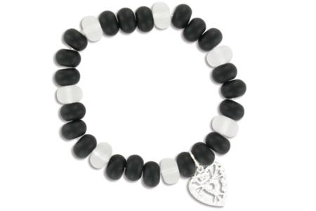Bracelets Black and White - Bijoux – 10doigts.fr