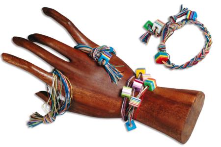 Bracelets ou colliers Bayadère - Bijoux – 10doigts.fr