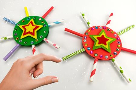 Bricolage Boule de Noël Enfant - Tête à Modeler