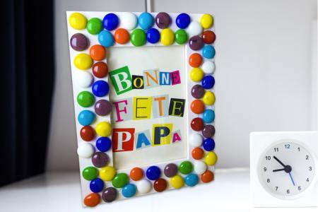 Cadre mosaïque fête des pères - Fête des Pères – 10doigts.fr