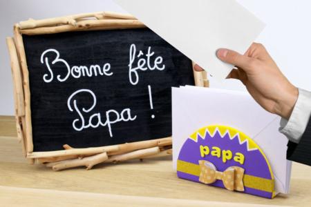 Range courrier nœud papillon - Fête des Pères – 10doigts.fr