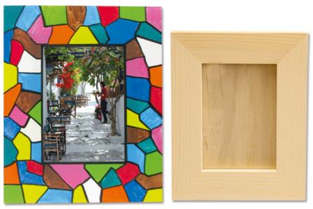 Cadre vitrail - Cadres, tableaux – 10doigts.fr