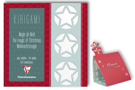 Carnet projets en Kirigami - 52 pages - Papiers motifs fêtes – 10doigts.fr