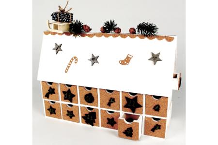 Chalet calendrier de l'avent - Noël – 10doigts.fr