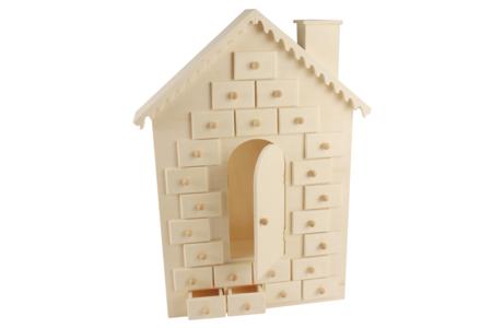 Maison calendrier de l'Avent - Noël – 10doigts.fr