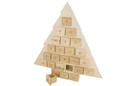 Sapin calendrier de l'Avent - Noël – 10doigts.fr