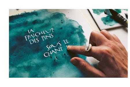 Livre : Calligraphie et lettering faciles - Livres Calligraphie – 10doigts.fr