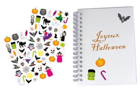 Gommettes Halloween - Set de 80 gommettes - Halloween – 10doigts.fr