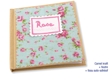 Tissu adhésif fleuri fond bleu - Tissu auto-adhésif – 10doigts.fr