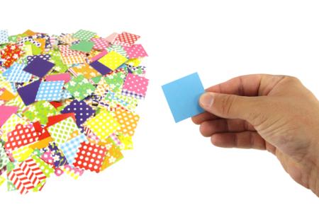 Mosaiques XXL en carte forte brillante -1000 pièces - Mosaïques papiers – 10doigts.fr