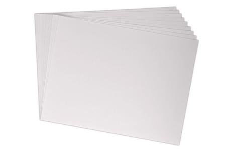 Papier épais blanc - Format au choix - Papiers pour peinture – 10doigts.fr