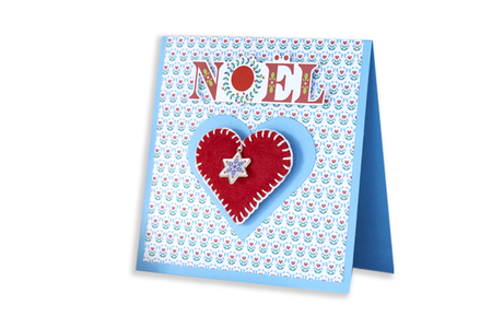 Bloc papiers de scrap Noël - 60 feuilles - Nouveautés – 10doigts.fr
