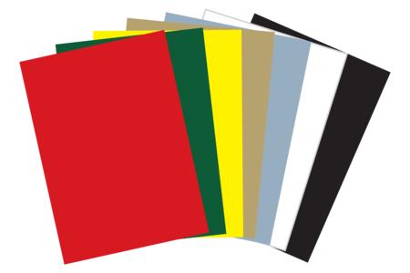 Cartes fortes couleurs de fêtes assorties - Set de 20 - Papiers grammage épais – 10doigts.fr