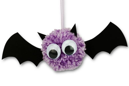 Chauves souris pompons - Halloween – 10doigts.fr