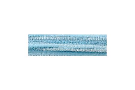 Chenilles bleu clair - Lot de 25 brins - Chenilles, cure-pipe – 10doigts.fr