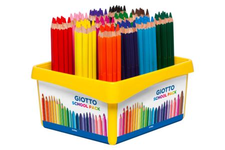 Maxi crayons de couleur GIOTTO Méga - Crayons de couleurs – 10doigts.fr