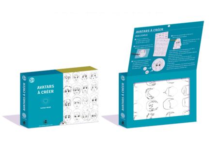 Coffret Porte-clés Avatar - Plastique magique - Coffrets Créatifs – 10doigts.fr