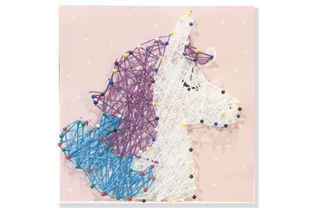 Coffret String art Licorne - String Art – 10doigts.fr