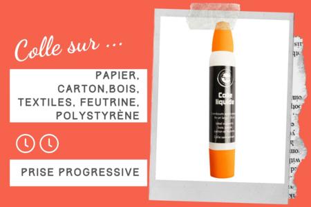 Colle forte avec double applicateur - Sans Solvants - Colles scolaires – 10doigts.fr