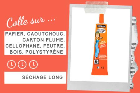 Colle gel Cléopâtre - Sans solvants - Colles scolaires – 10doigts.fr