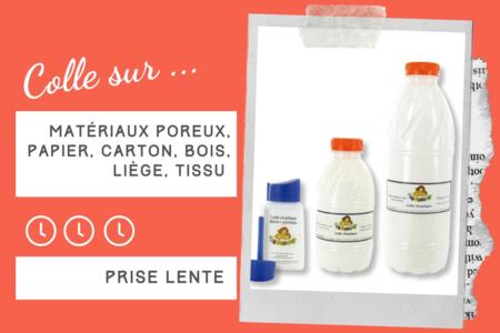 Colle Blanche Vinylique 10 Doigts - Sans solvants - Colles scolaires – 10doigts.fr