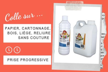 Brut de Colle - Colle forte qualité professionnelle - Colles scolaires – 10doigts.fr