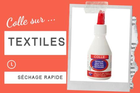 Colle pour textile - 100 ml - Colles spécifiques – 10doigts.fr