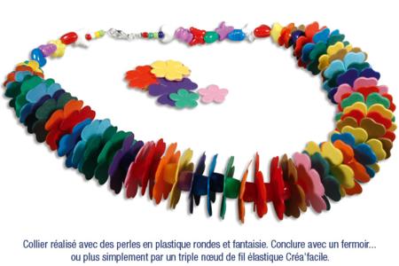 Collier en fleurs - Bijoux – 10doigts.fr