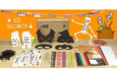 Box créative Créabul - Halloween 2018 - Box créatives – 10doigts.fr