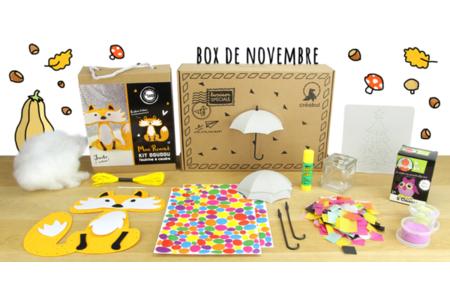 Box créative Créabul - Novembre 2019 - Box créatives – 10doigts.fr