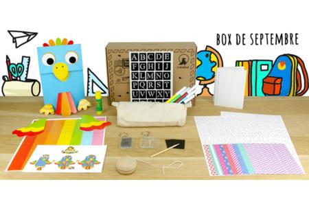 Box créative Créabul - Septembre 2018 - Box créatives – 10doigts.fr